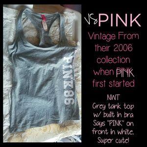 NWT Vintage VS PINK Tank *med*